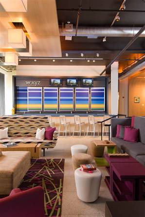 Wxyz bar at Aloft hotel