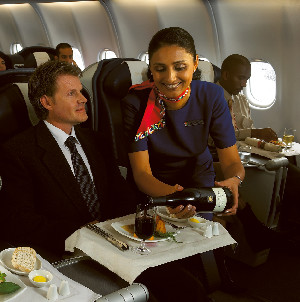 South African Airways Wine Service