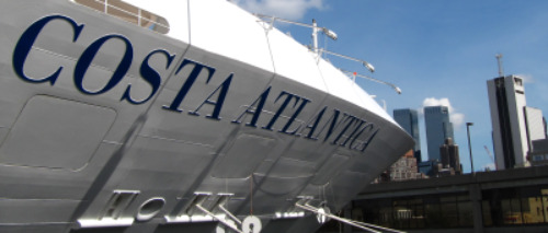 Costa Atlantic on Harbor