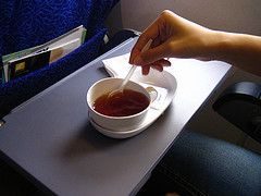 Coffee on Plane