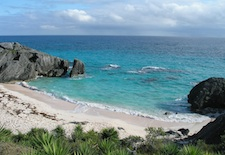 Beach in Southampton Parish Bermuda