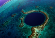 The Blue Hole in Belize