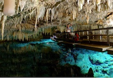 Crystal Cave in Bermuda