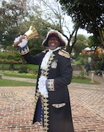 Ed Christopher, Hamilton, Bermuda Town Crier