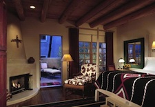 Balcony Room at Inn of the Anasazi in Santa Fe