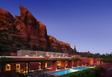 Pool and View at Mii Amo in Sedona