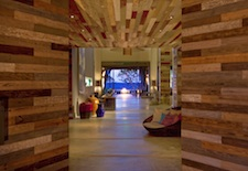 The lobby of the W Retreat & Spa Vieques