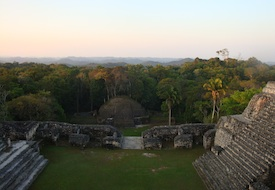 View from Ca'ana at Caracol in Belize