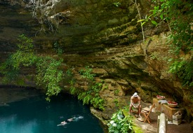 Catherwood private cenote Xocempich