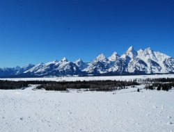 Grand Teton National Park winter