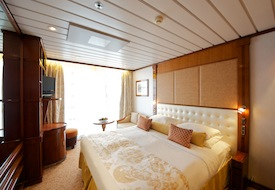 Category C Balcony Stateroom on Paul Gauguin