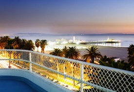 View from Rooftop of The Shangri-La Hotel in Santa Monica