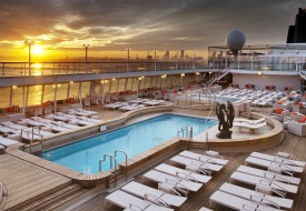 Crystal Cruises Pool Deck