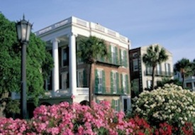 Springtime on The Battery in Charleston, SC