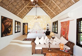 Interior of casita at Matachica Resort & Spa