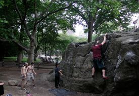 Bouldering New York City