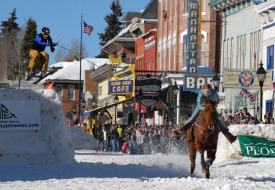 skijoring competition