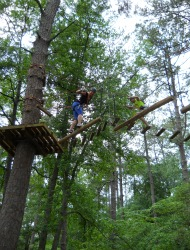TreeTop Adventure Callaway Gardens