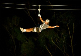 Night Zip Line Catalina Island