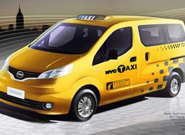 Nissan New NYC Taxi 1