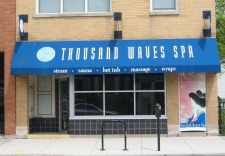 Thousand Waves Spa Exterior