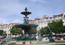 Lisbon Rossio Plaza