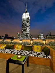 The Strand Hotel NYC Rooftop View