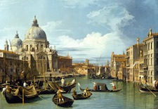 Canaletto painting from 1729