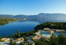 View of Grecotel Eva Palace on Corfu