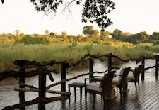 The River Deck at Lion Sands in South Africa
