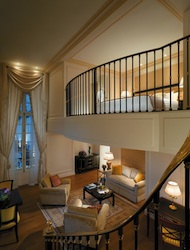 Duplex Suite at Shangri-La Hotel, Paris
