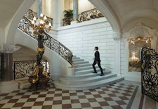 Grand Staircase at Shangri-La Hotel, Paris