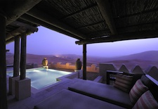 View from Villa at Qasr Al Sarab