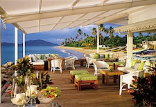View from Terrace at Four Seasons Resort, Nevis
