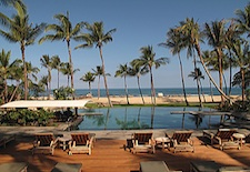 Palm Grove Pool at Four Seasons Resort Hualalai