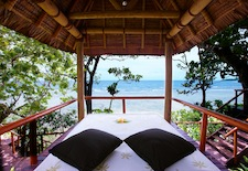 Daybed View at Dream House at Namale Resort in Fiji