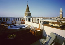 Rooftop Jacuzzi at The Bauer Il Palazzo in Venice