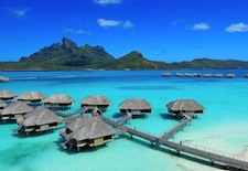 Overwater Bungalows at Four Seasons Resort Bora Bora