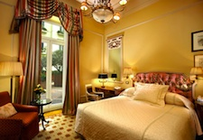 Room at the Hotel Grande Bretagne in Athens