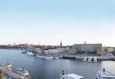 View from The Grand Hotel in Stockholm