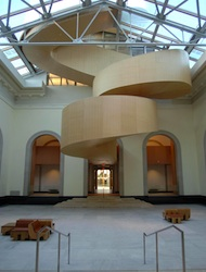 Frank Gehry-designed Baroque Stair at the Art Gallery of Toronto