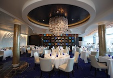 Blu restaurant on Celebrity Silhouette