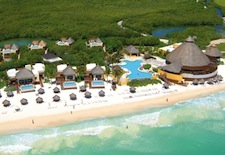Arial view of Fairmont Mayakoba