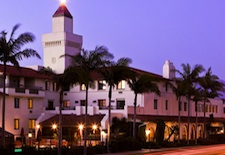 Exterior of Hyatt Santa Barbara