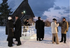 Ice Wine event at Inniskillin Winery in Niagara on the Lake