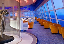 Sky Observation Lounge on Celebrity Silhouette