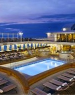 Pool Deck on Silver Spirit