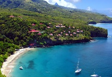 Aerial View of Ti Kaye Village on St. Lucia
