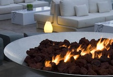 Fire Pit at W Fort Lauderdale