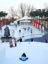 Temporary Ice Skating Rinks